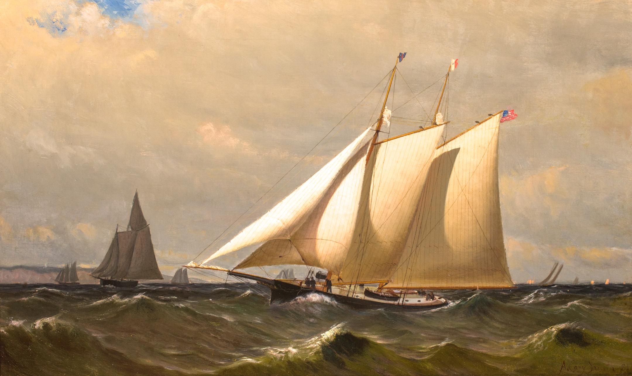 New York Yacht Club Schooner CLIO