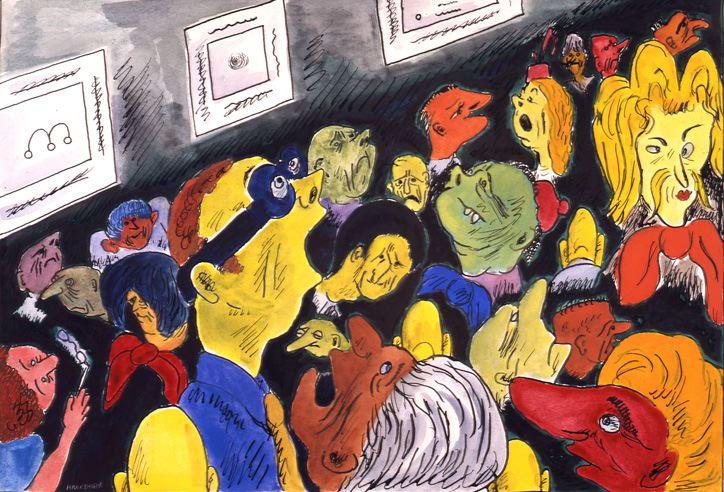 "The Contemporary Scene, ""Art People'"