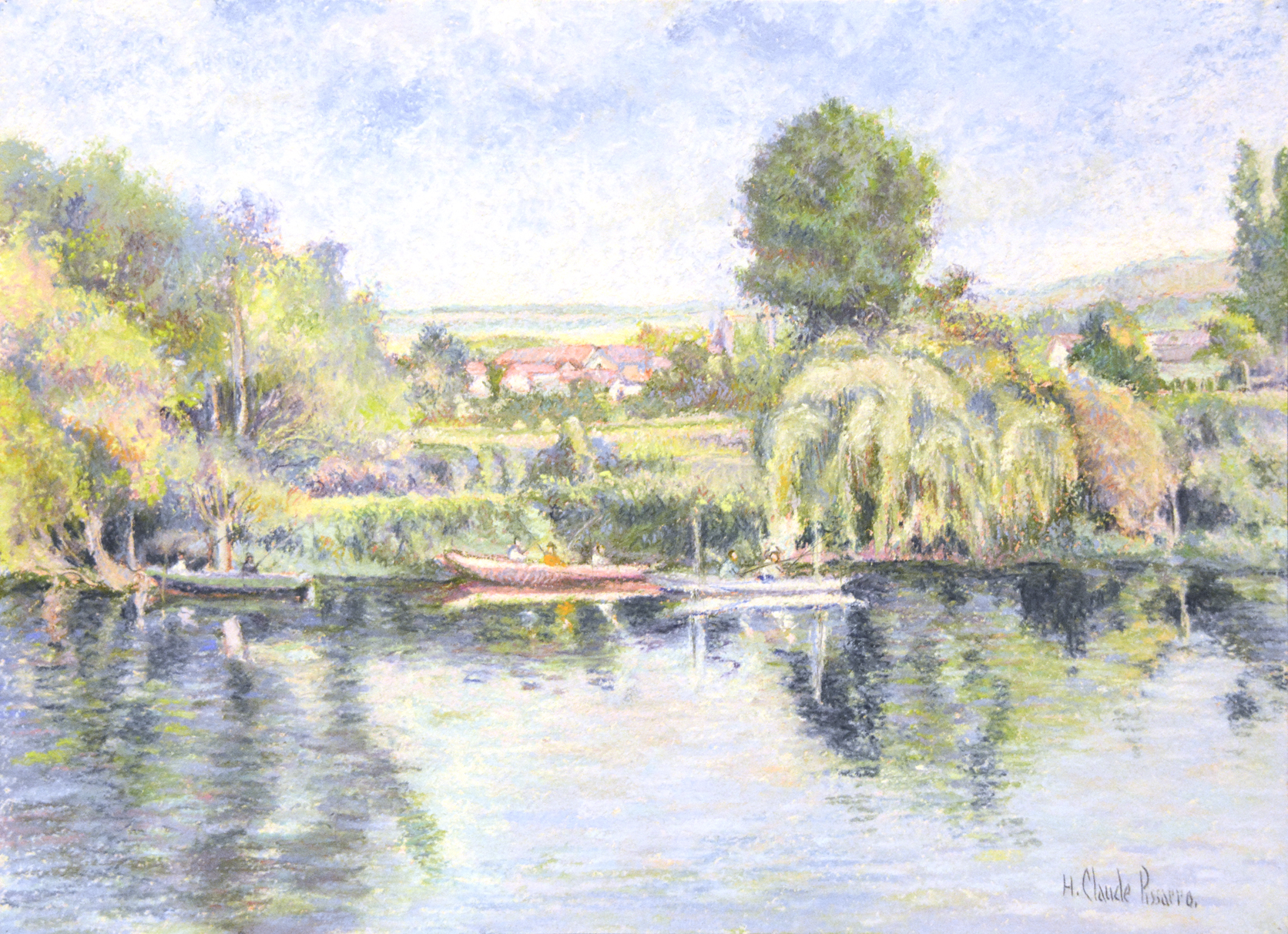 alt La pêche-au-coup à Gloton (bords de Seine)