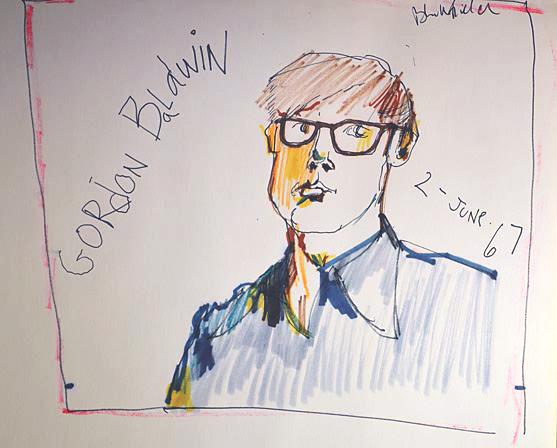 Portrait of Gordon Baldwin