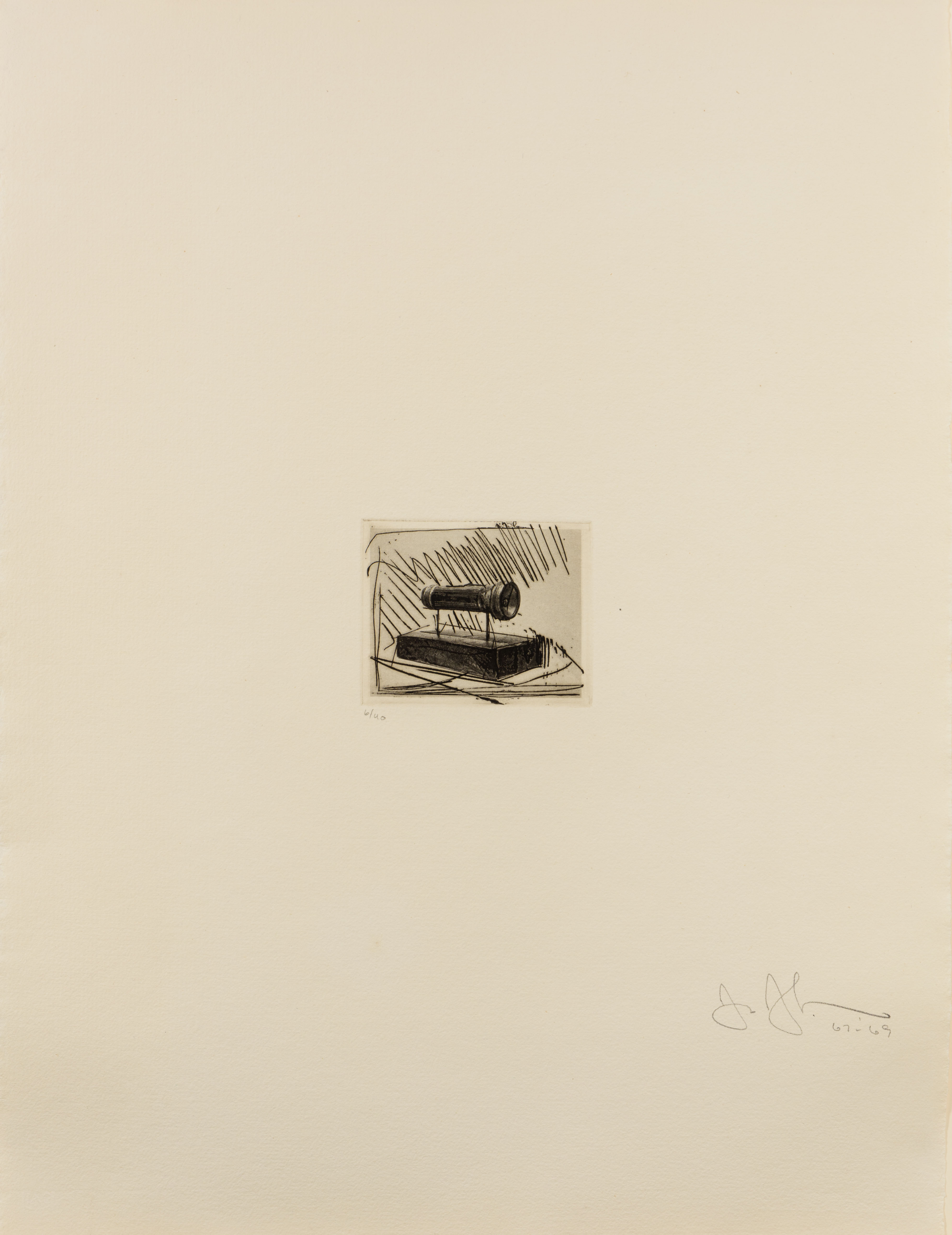 Flashlight (small), 1st Etchings, 2nd State