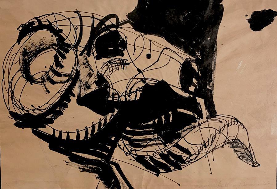 A Ram's Skull