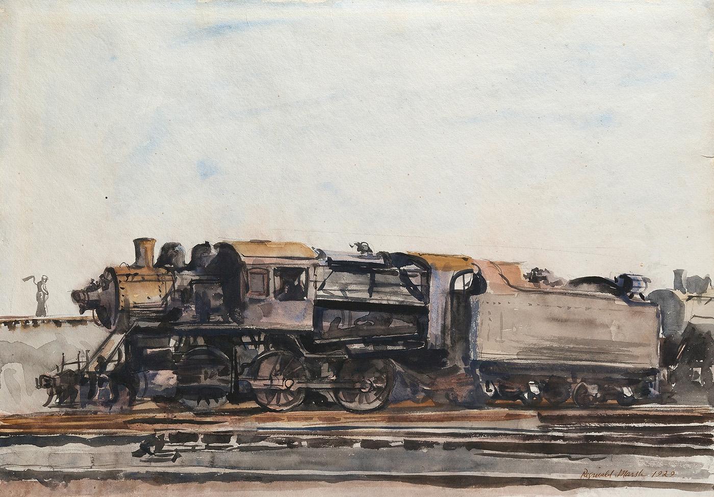 Marsh-Locomotive, 1929