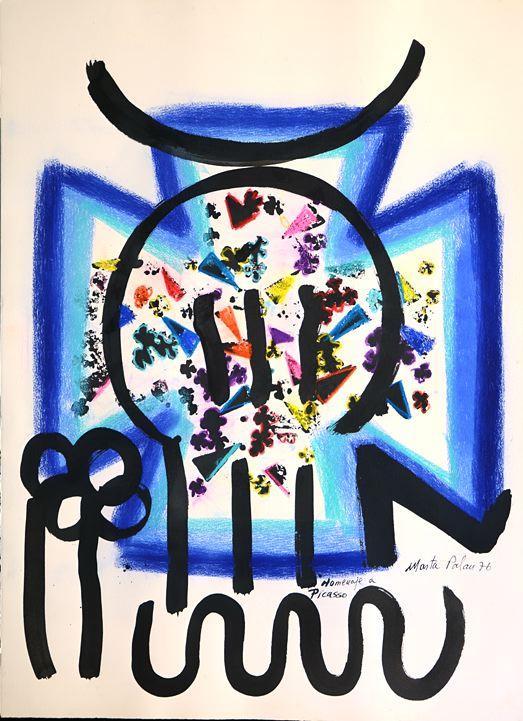 """Homaje a Picasso, from the series """"Sella de la España sellada"""""""