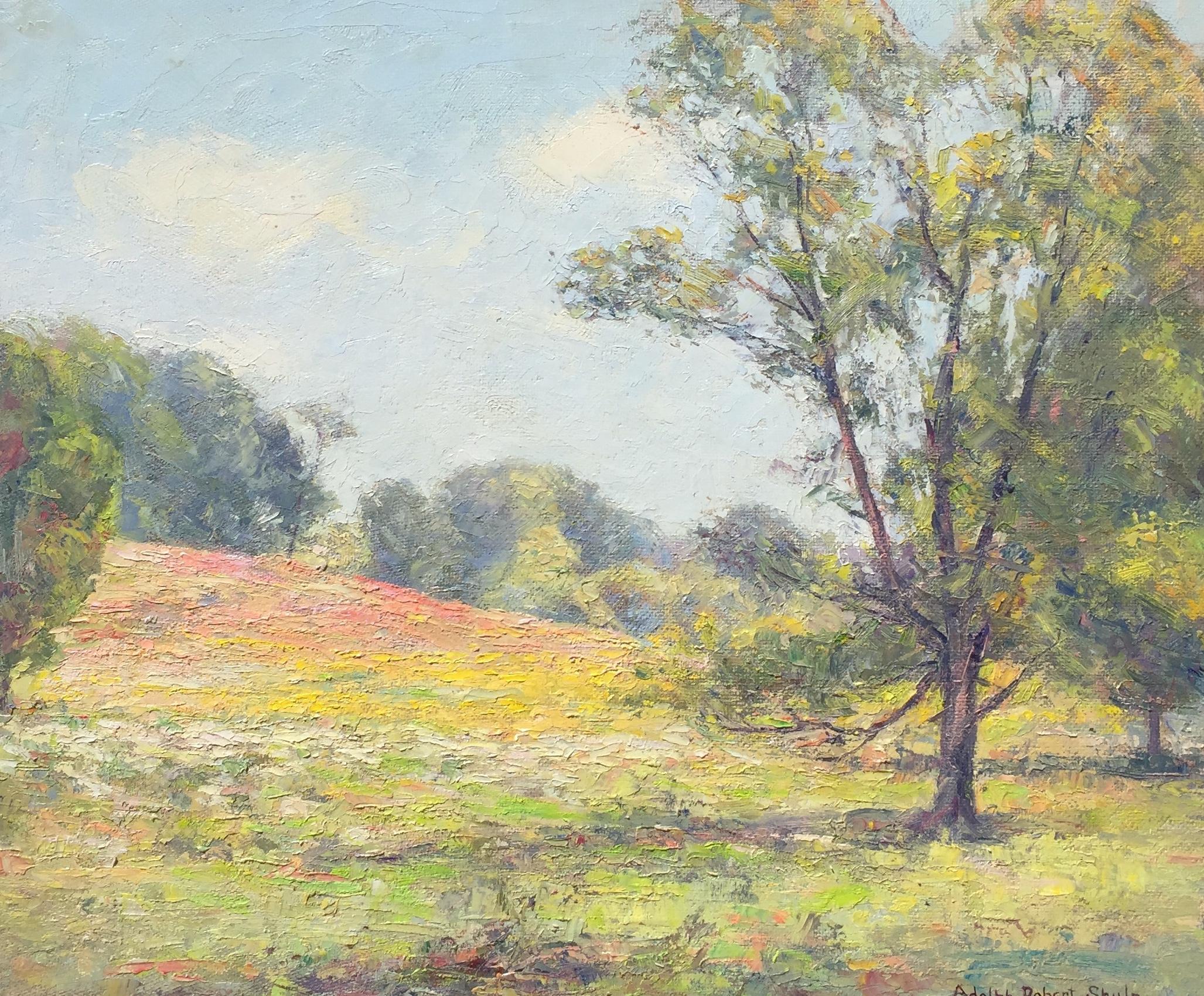Blossoming Hillside