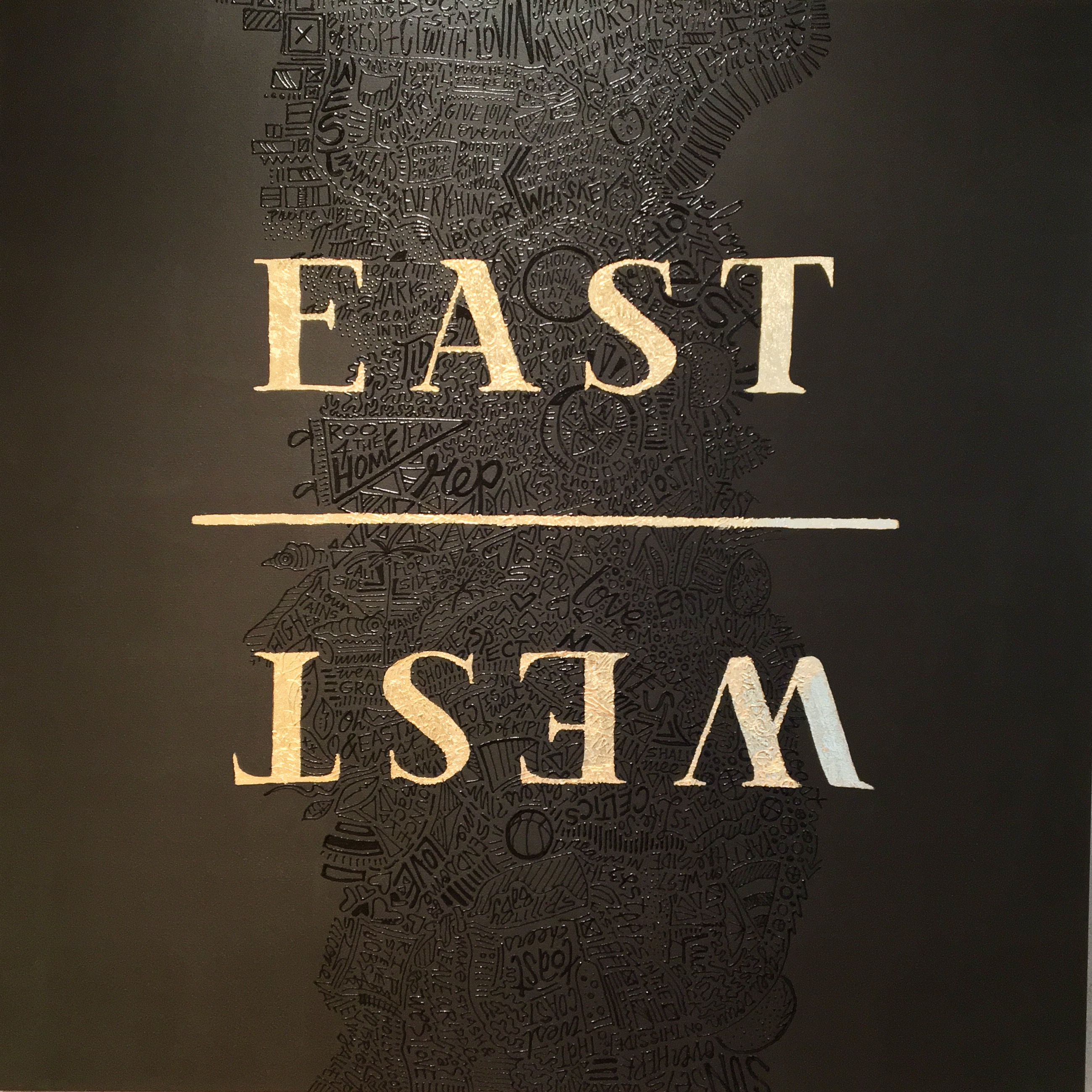 Over Series: EAST · WEST