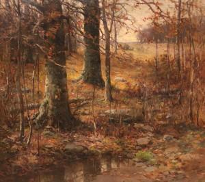 Bundy-A Wooded Hillside-cropped