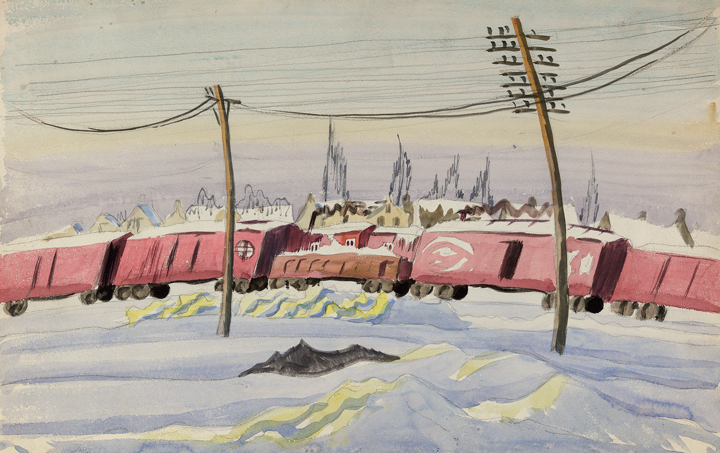 (Untitled) The Freight Train