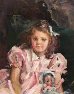 Adames, Wayman-Little Girl in Pink-cropped