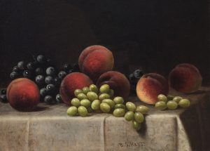 Hays-Peaches And Grapes-cropped