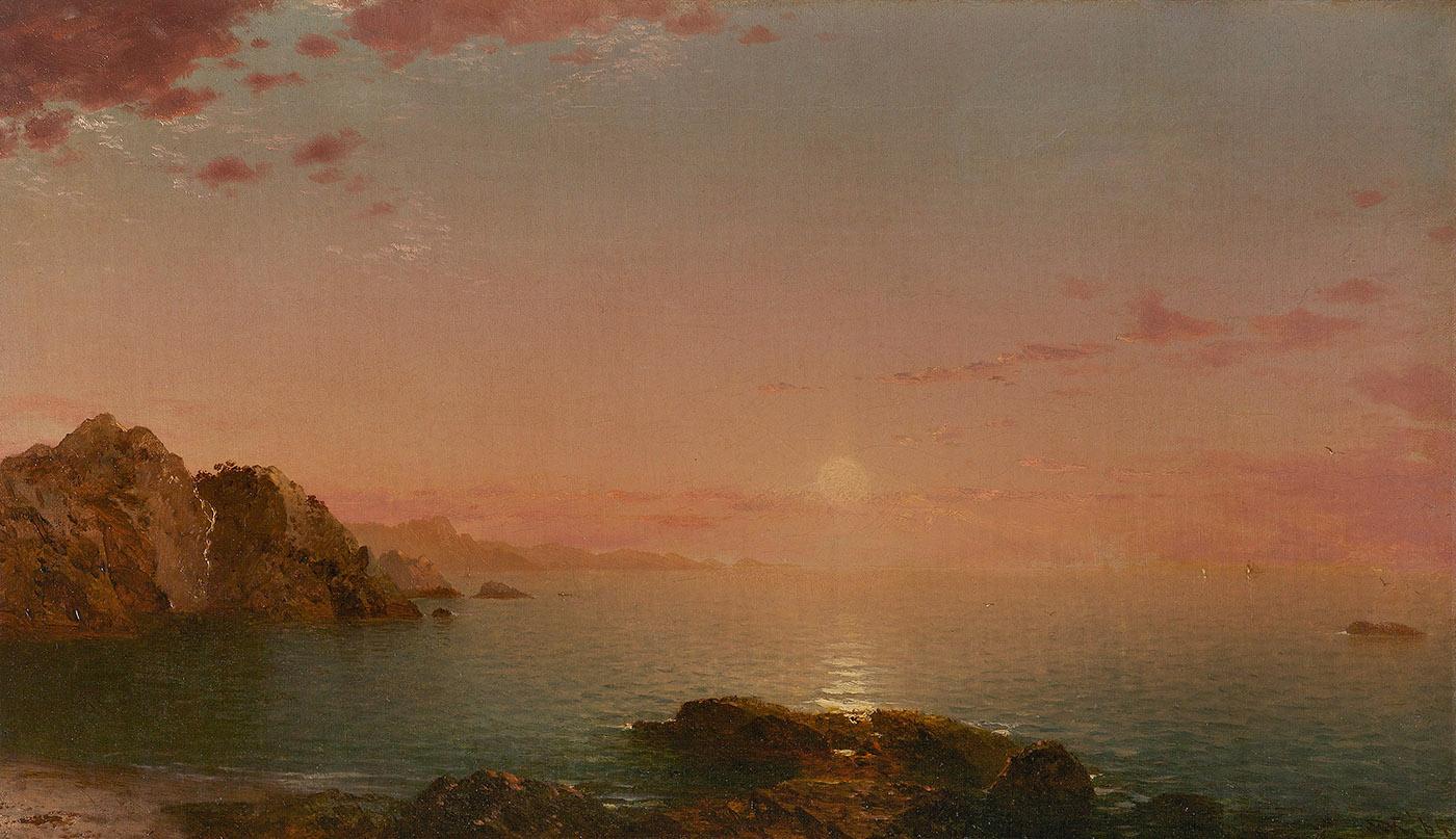 Pro Patria (Sunset on the Coast), 1864