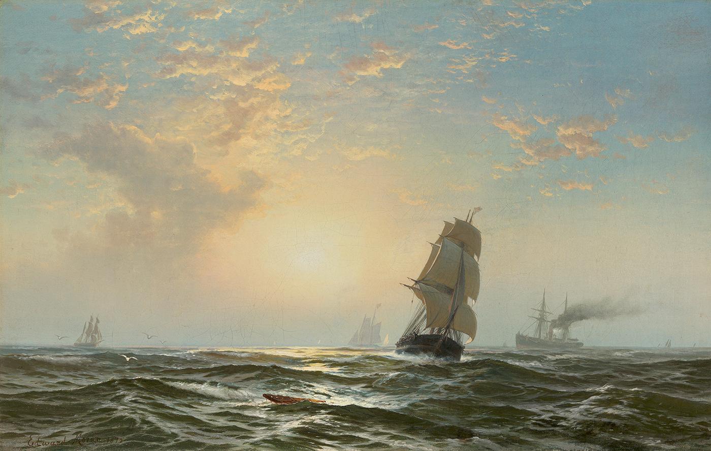 Seascape, 1875