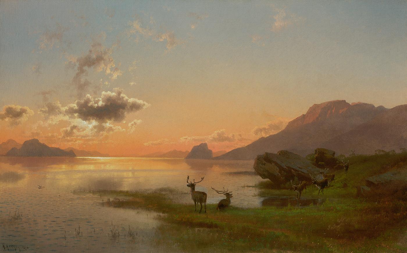 Twilight, 1876