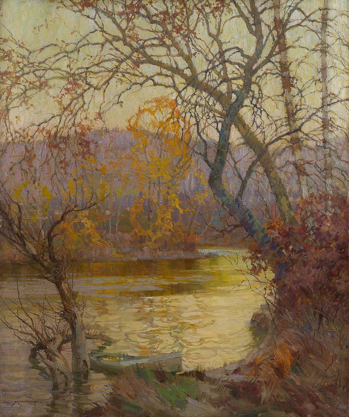 An October Evening
