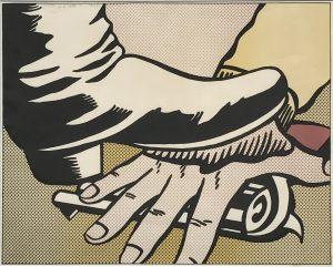 RLicht_foothand_1964_26x31