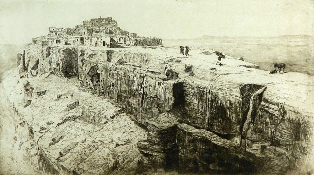 Walpi, First Hopi Mesa