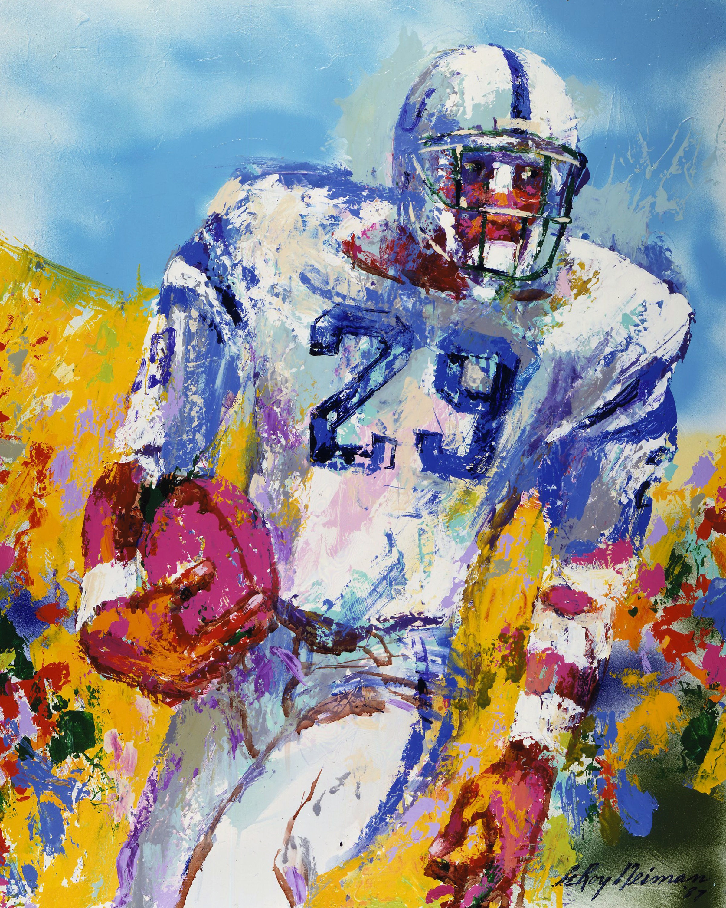 Eric Dickerson, Colts