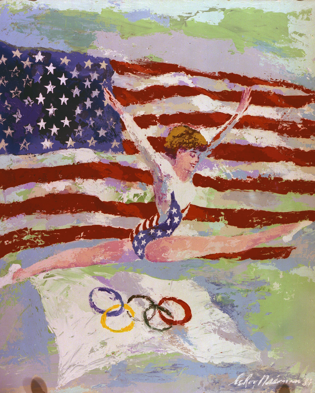 Mary Lou Retton, L. A. Olympics