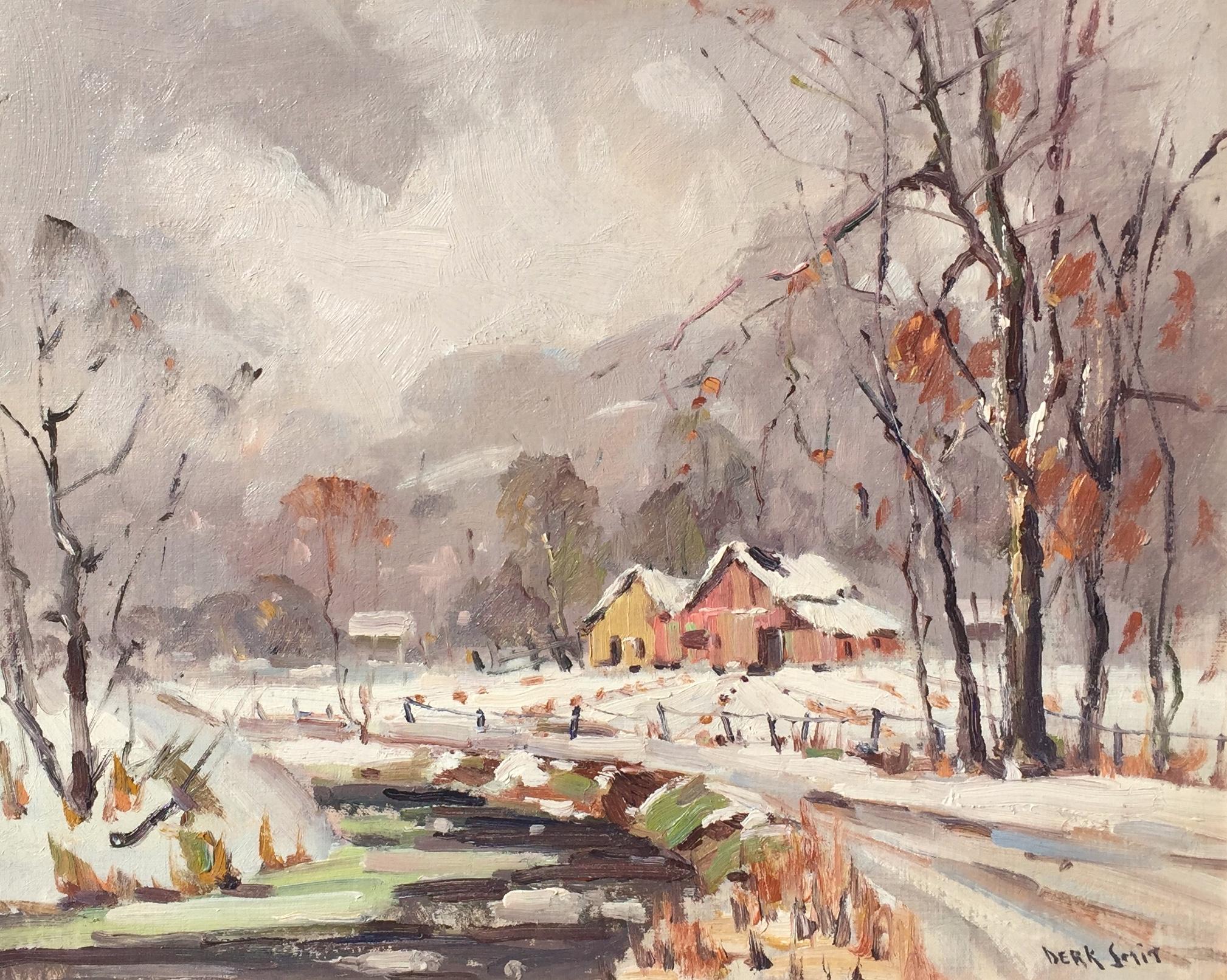 Brown County Farm in Winter