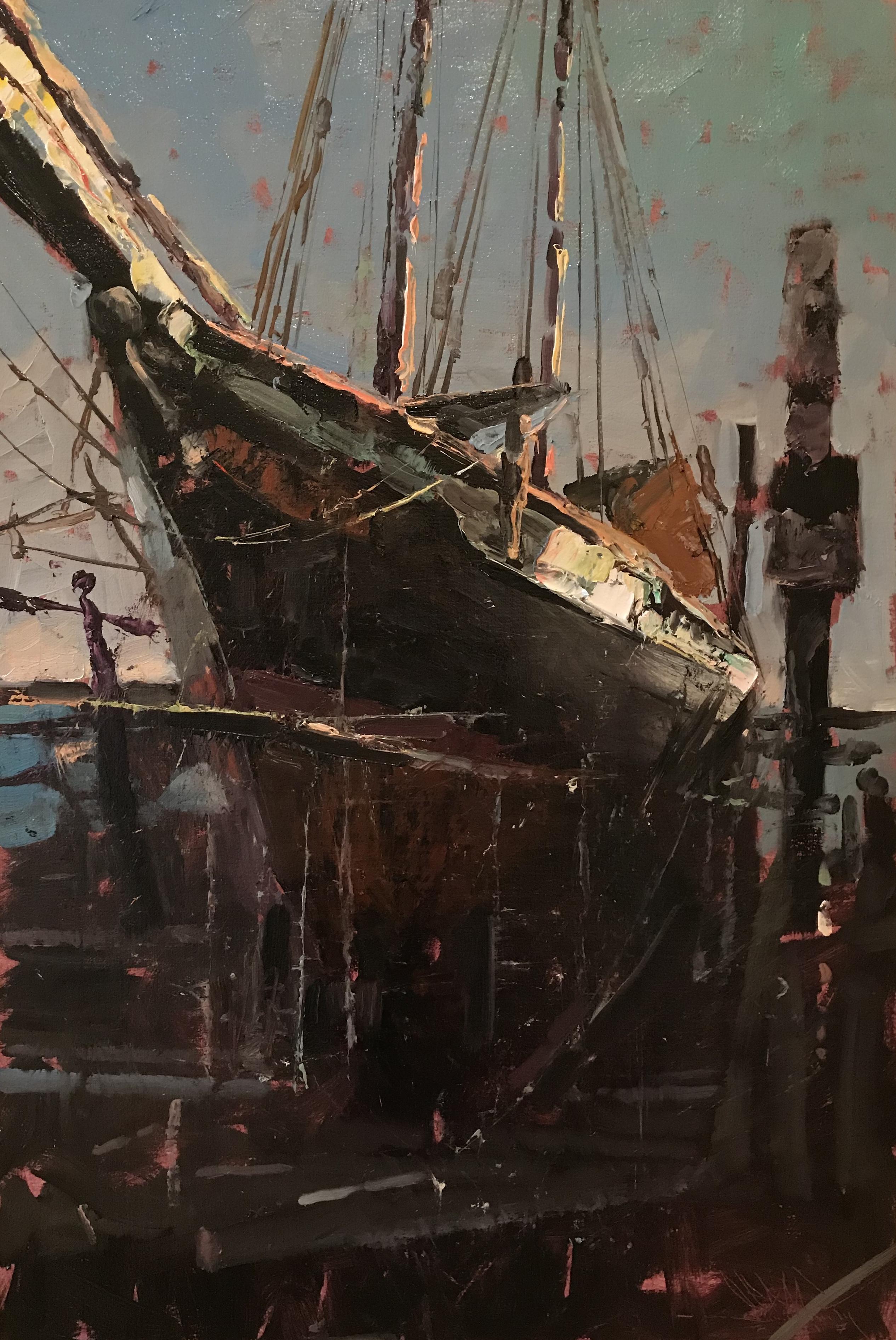 "The 'Lynx,"" Dry Dock"