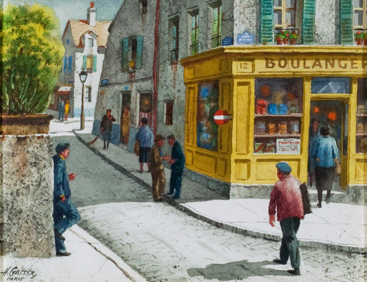 Saturday Morning, Montmartre