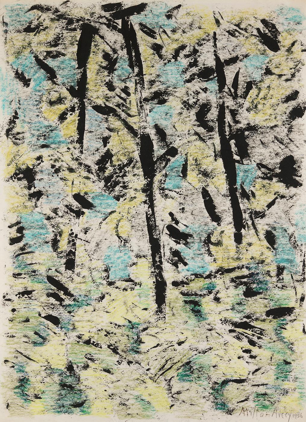 Sunlit Forest, 1956