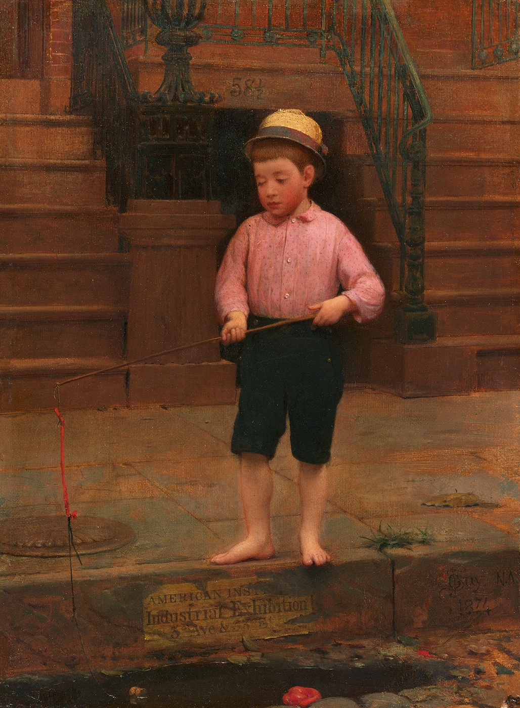 Boy Fishing, 1871