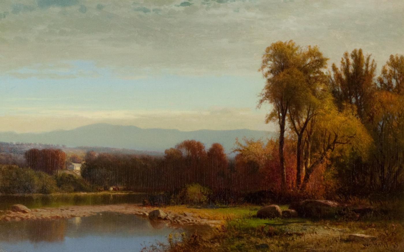 Sunset on Catskill Creek, 1869