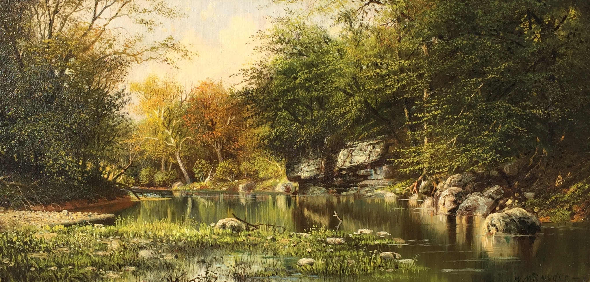 The Creek in Early Fall