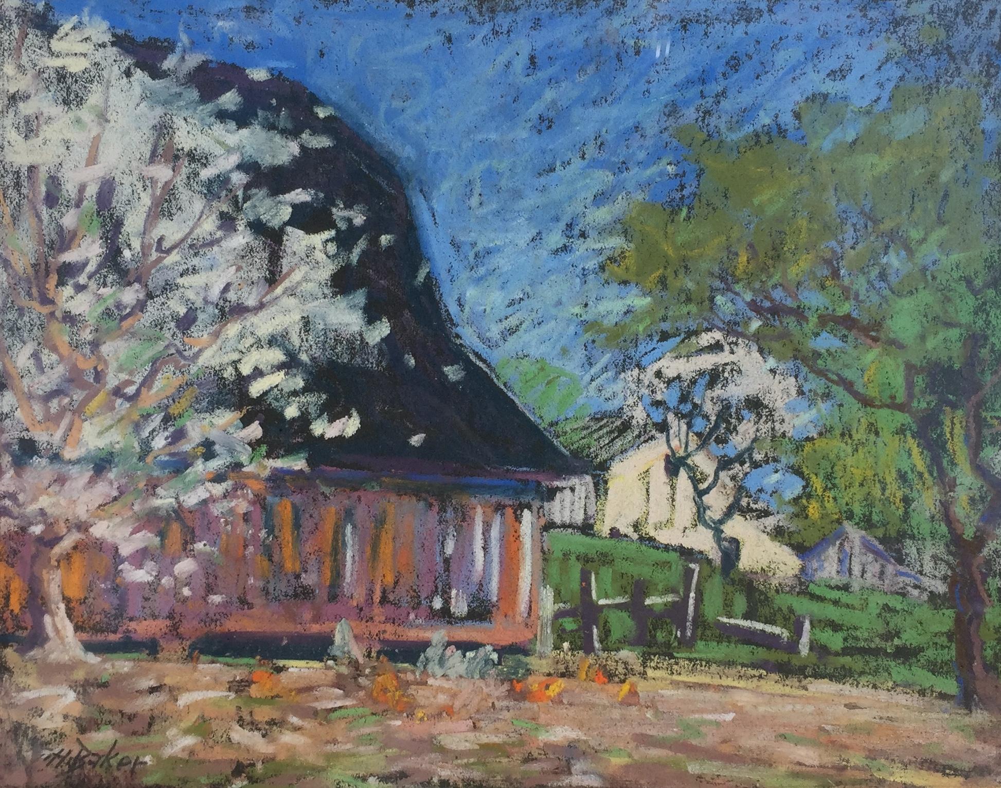 The Barnyard in Spring