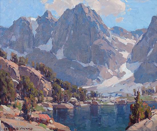 Kearsage Peaks, High Sierra, California
