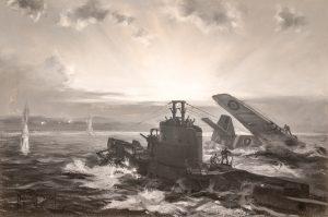 Dawson, SEALION rescues an RAF P-51 Mustang Pilot