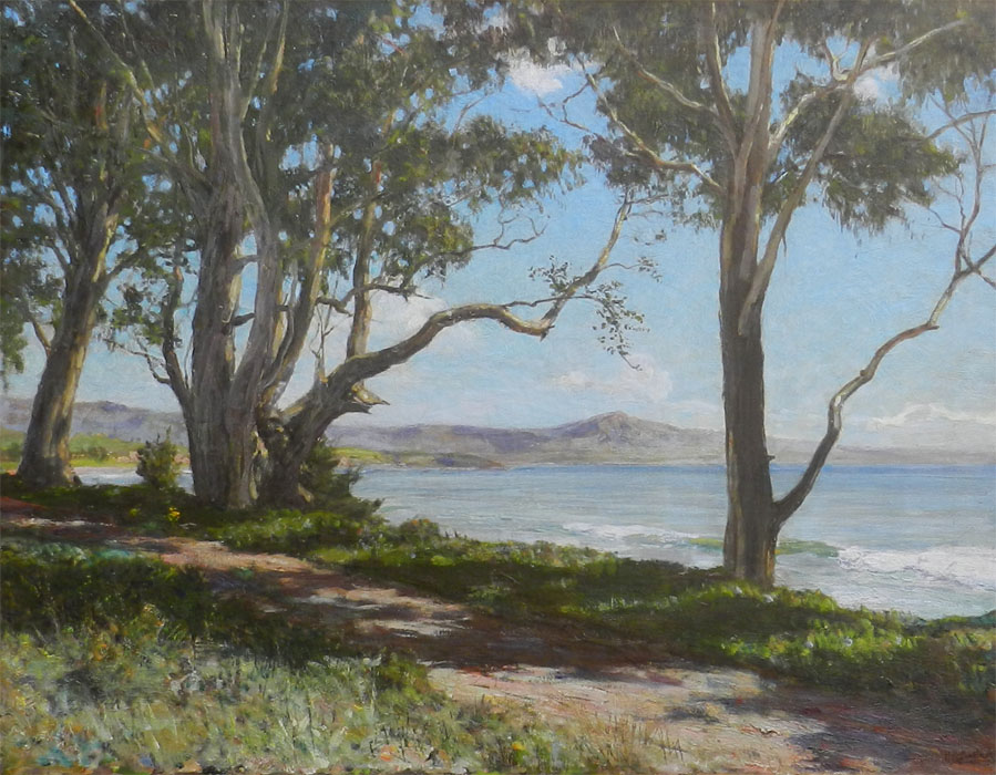 Mount Rincon from Eucalyptus Point