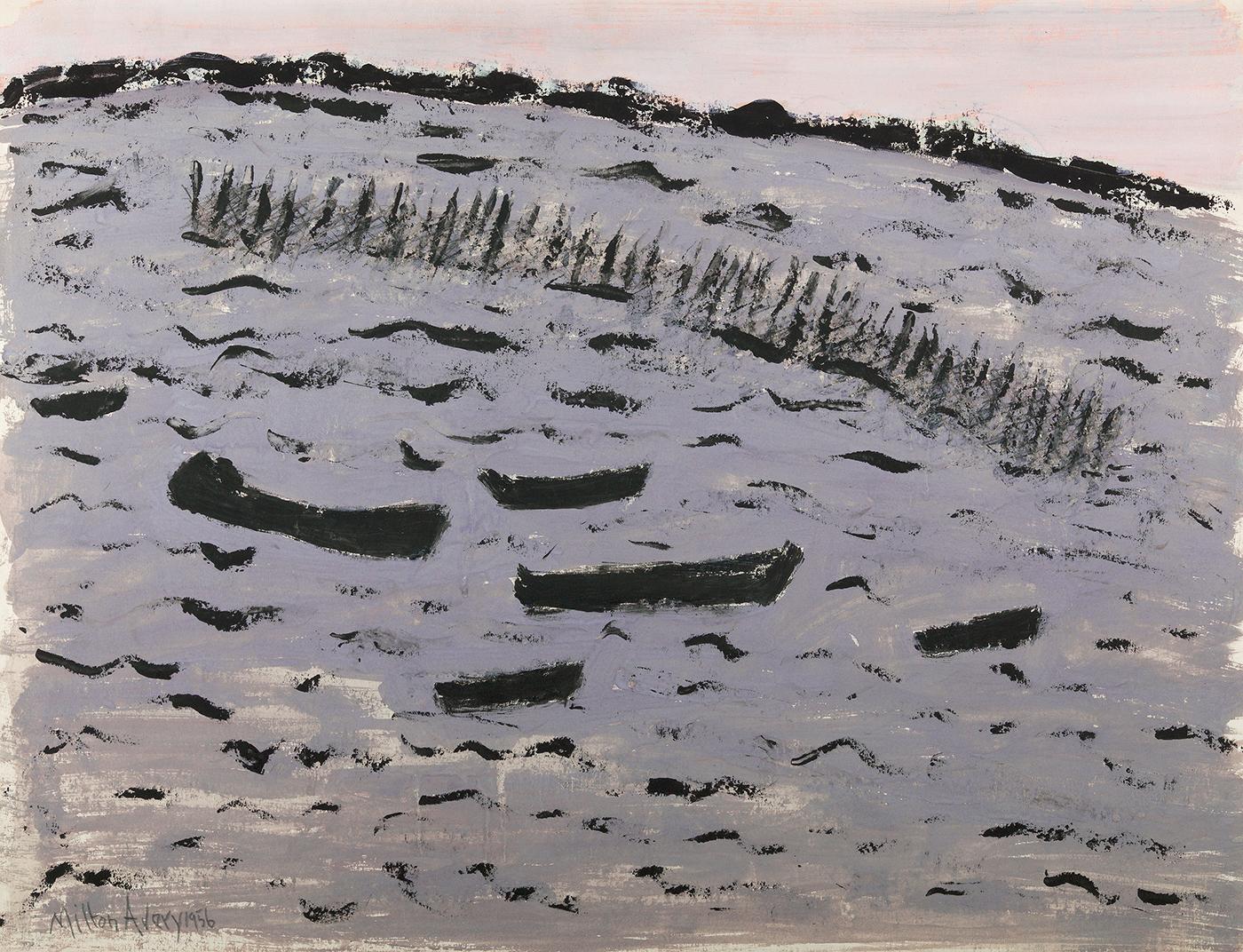 Sunset Harbor (Choppy Bay), 1956