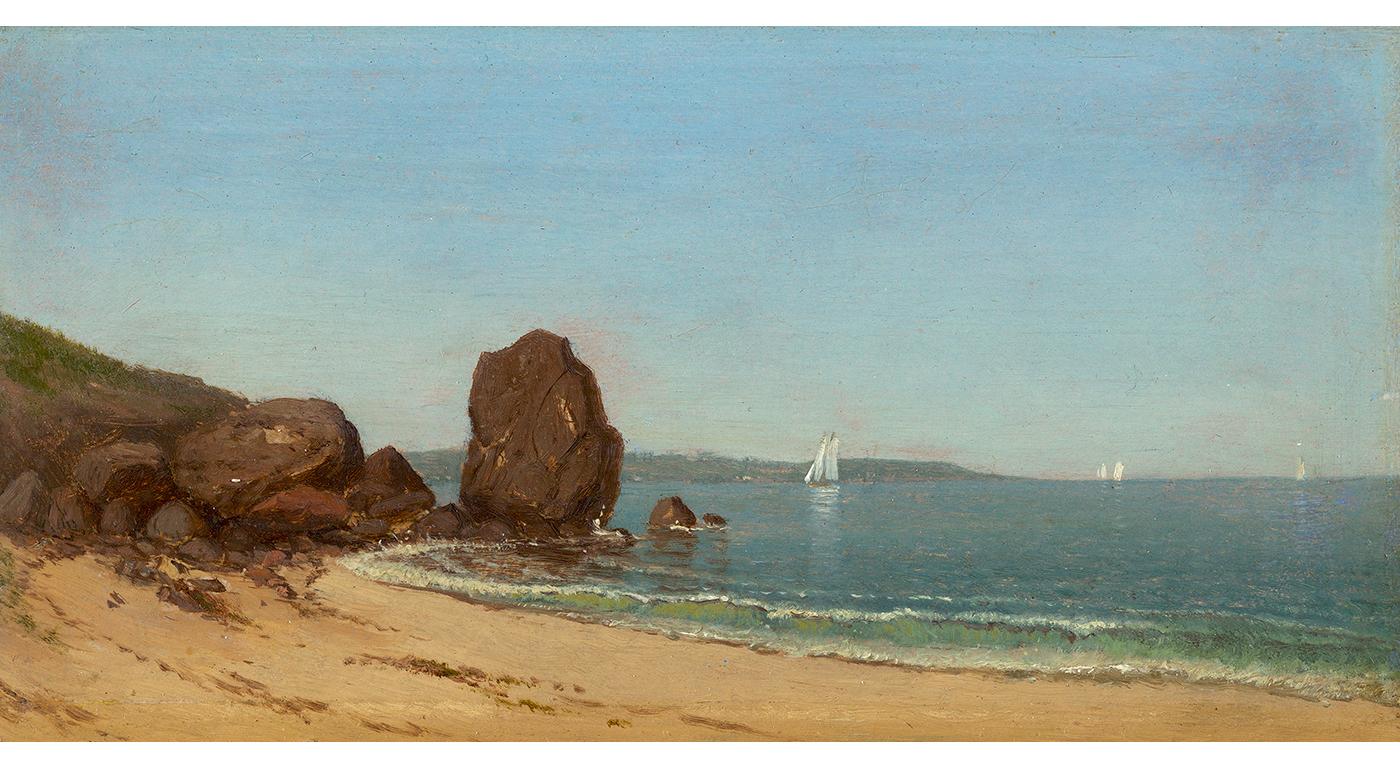 Half Moon Cove, Gloucester Bay, 1871