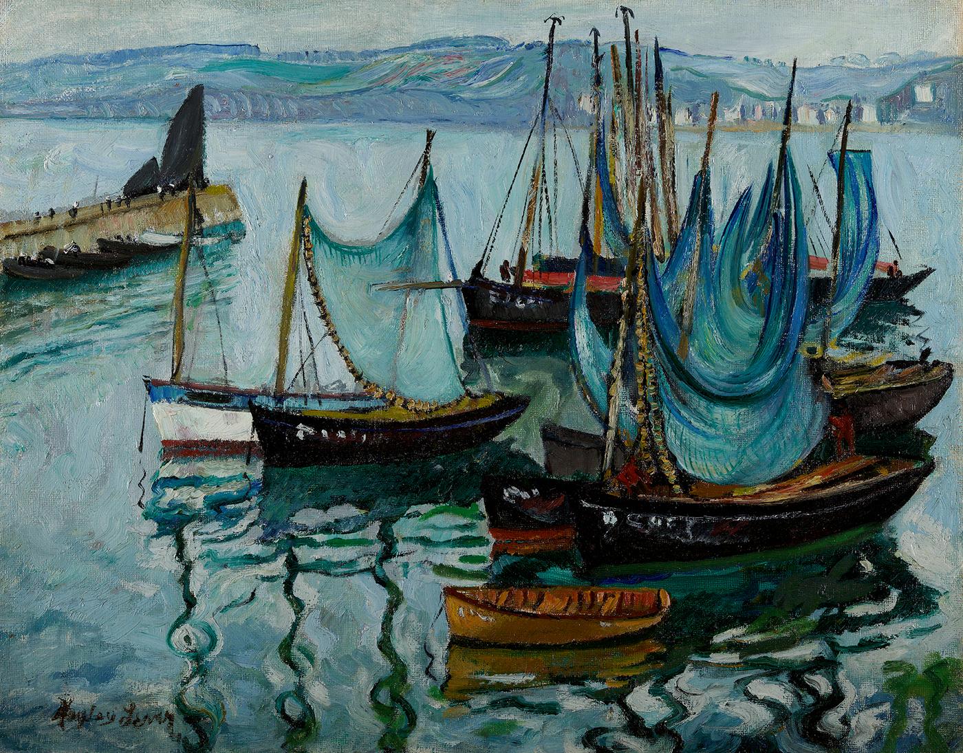Boats, St. Ives Harbor