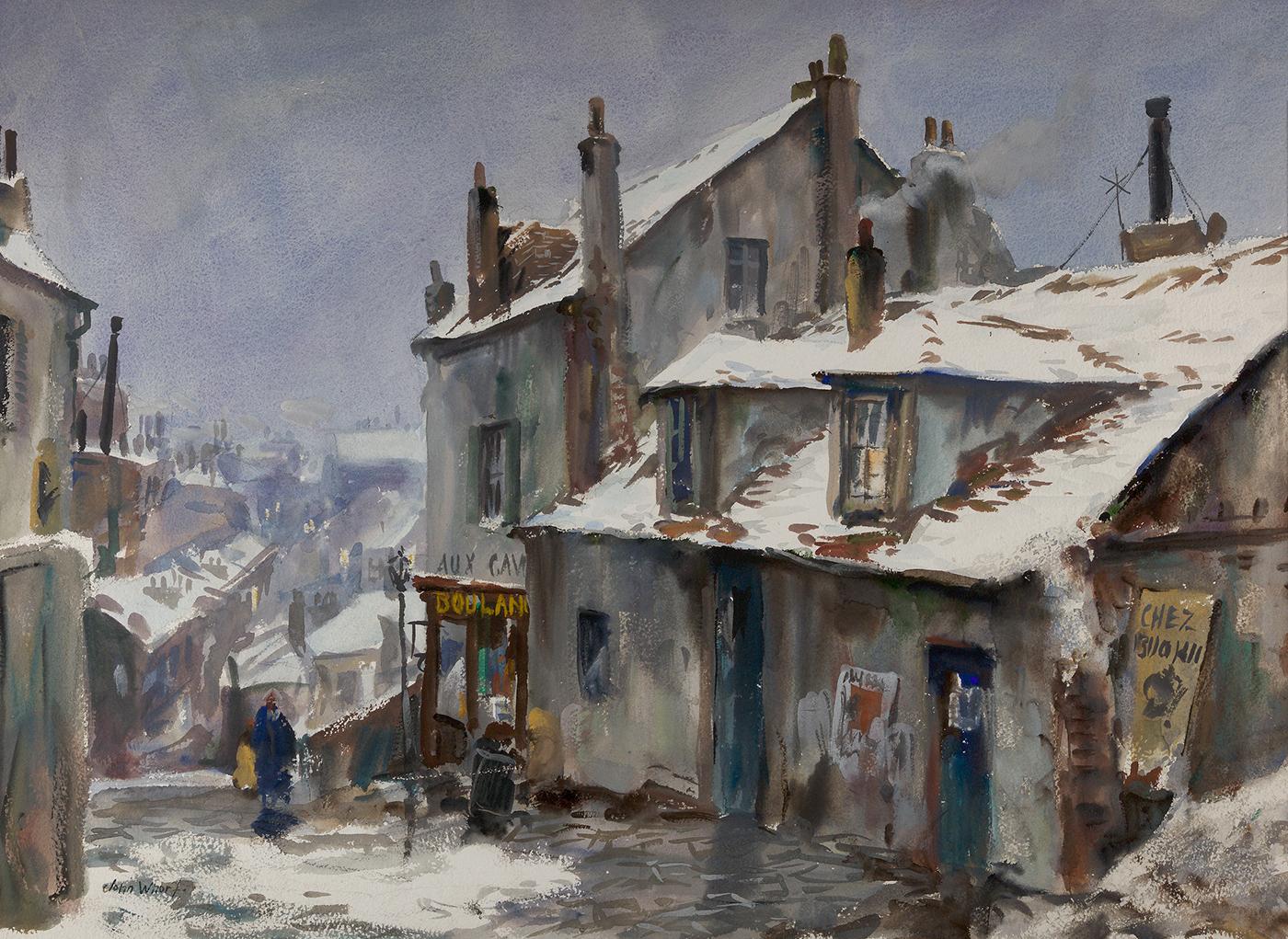 Winter, Montmartre
