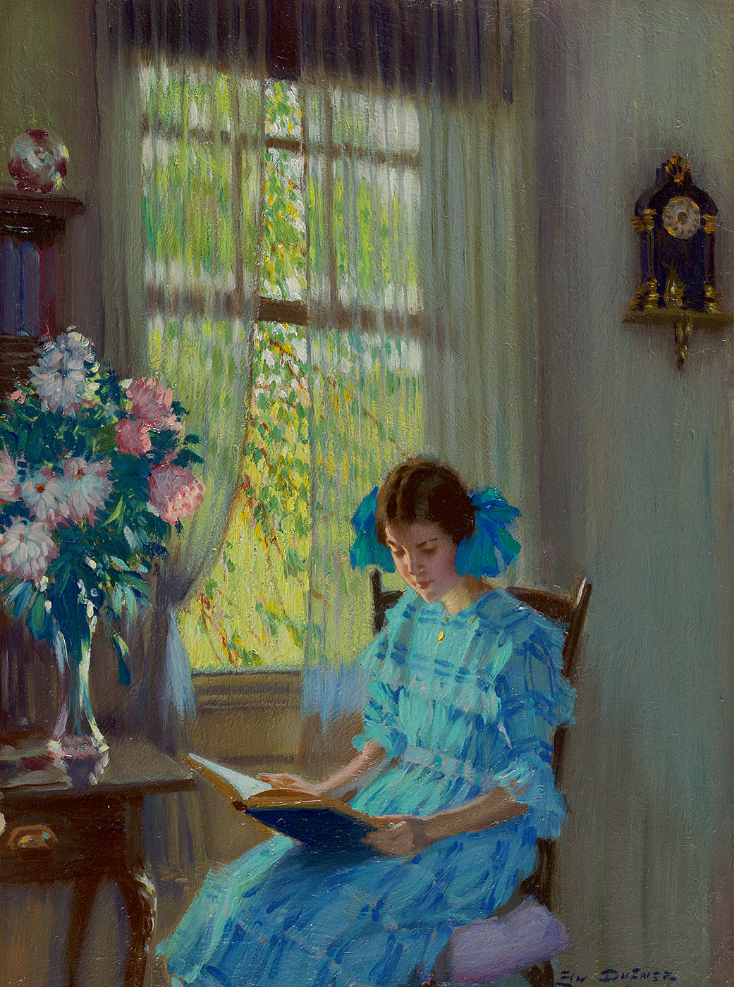 Margaret by the Window, 1915