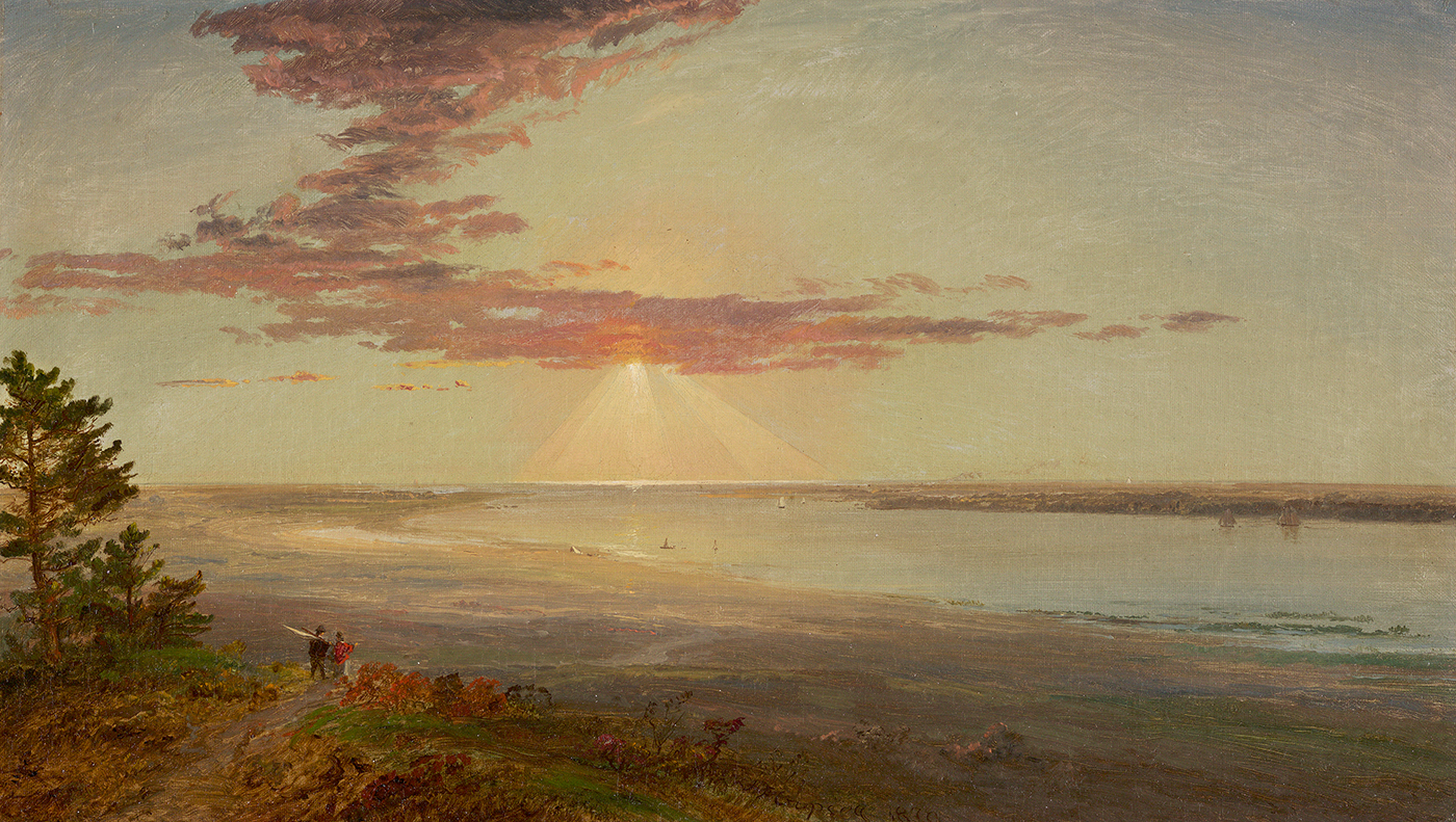 Sunset on a River Inlet, 1870