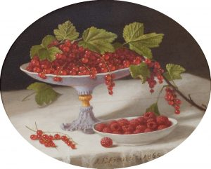 Francis-Still Life with Currants and Raspberries, 1865
