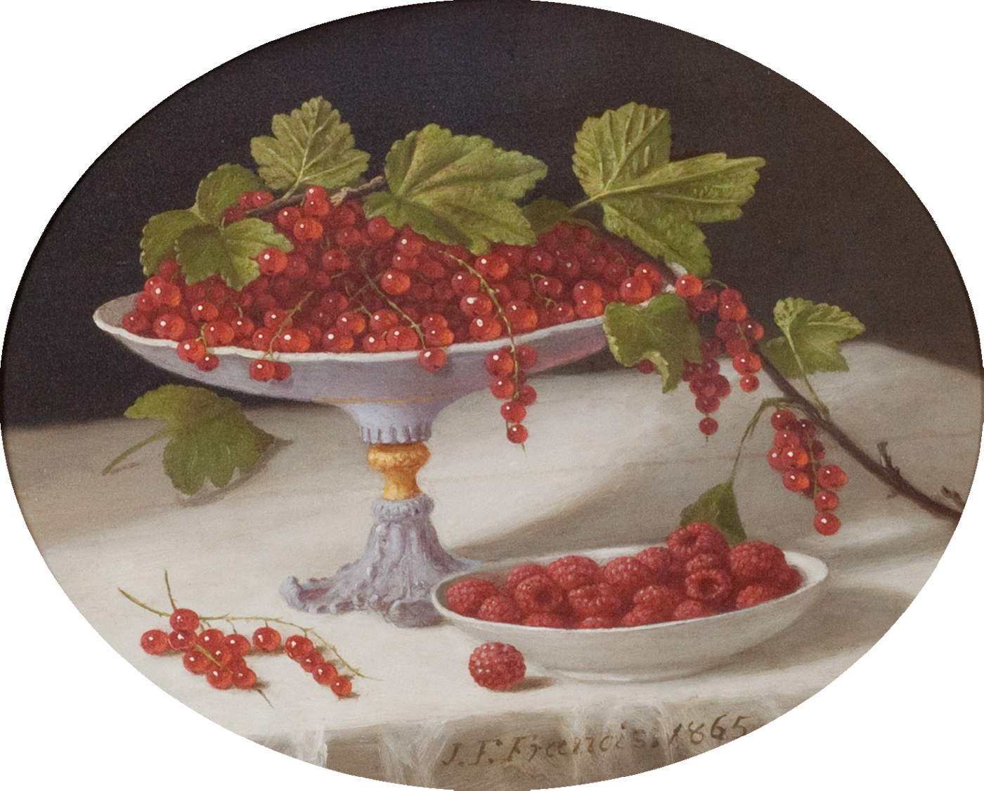 Still Life with Currants and Raspberries