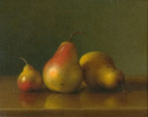 Hall-Still Life with Pears