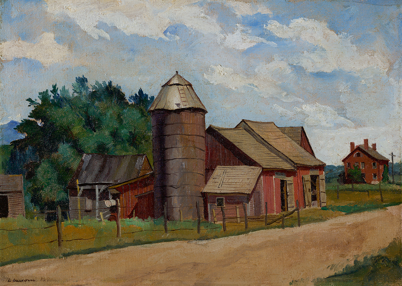 Old Barns, 1935