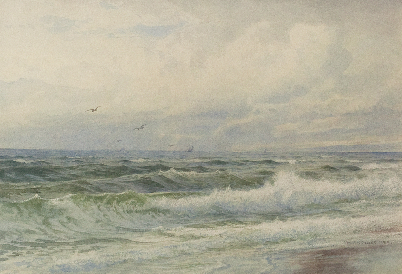 Incoming Tide, 1891