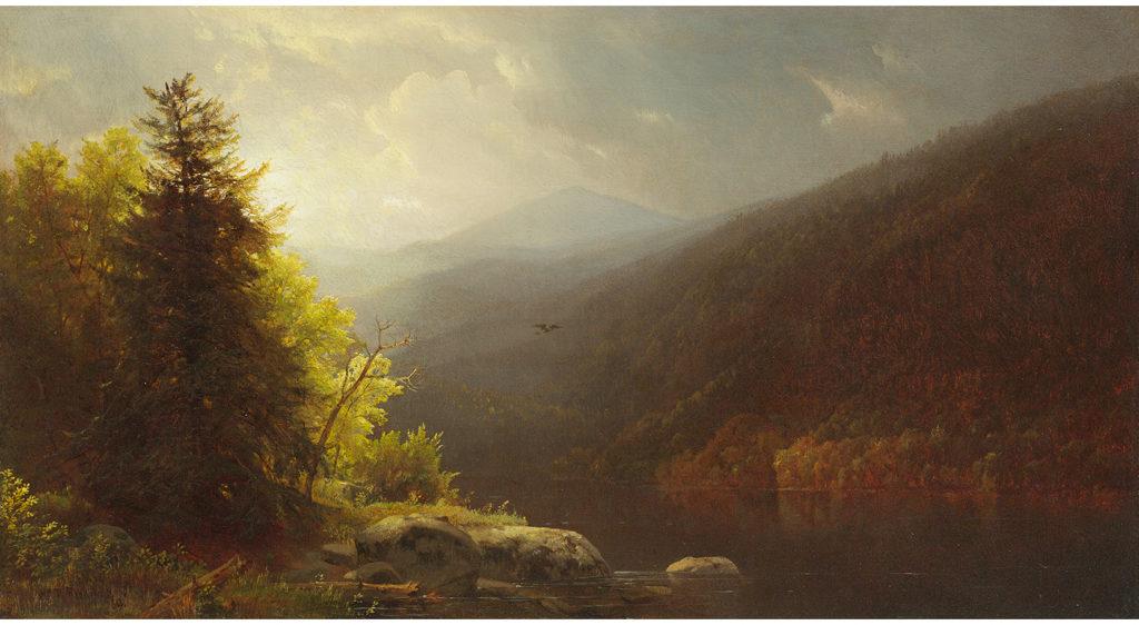 Richards-Adirondacks Lake, 1869-1st dibs