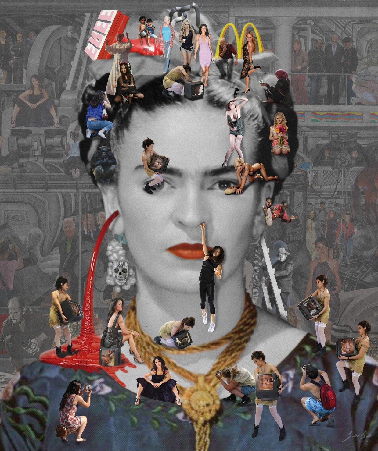Self Portrait: Frida Kahlo