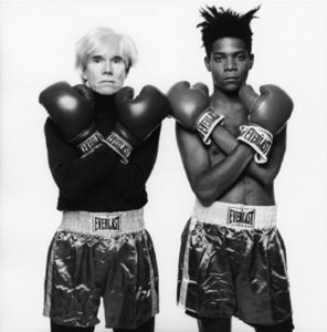 Warhol and Basquiat Boxing Gloves