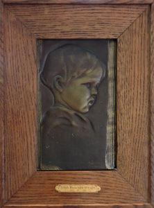 Wendt childs portrait big frame