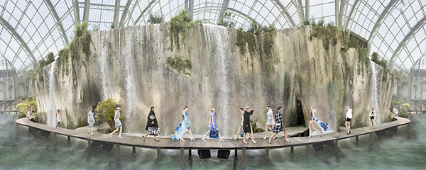Image of Simon Procter's Chanel Arcadia, Spring/Summer, Paris 2017 C-print