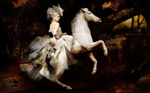 "Image of Simon Procter's ""Dior, The Rider"" C-print"